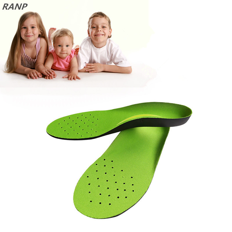 Children Massage Pain Relief Orthotic Breathable Sport Insole Flat Foot Correction Arch Support Orthopedic Plantar Fasciitis Pad kids children orthopedic insoles for shoes flat foot arch support orthotic pads correction health feet care insole xd 065