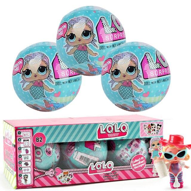 LOL кукла Забавные игрушки 9.5 см случайный Наряжаться маленьких разорвать Цвет Изменение Яйцо Куклы Серия 2 в шары игрушечные лошадки для Обувь для девочек фигурки