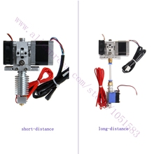 Hotend extruder Kit Mendel Delta Rostock 3d printer short Long distance 1 75 3mm Filament 0