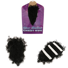 Novelty Chest Hair Curly Wig Mens Costume DIY Decor Fancy Dress Cosplay Hen Night Party Photo Prop Decoration Accessories(China)