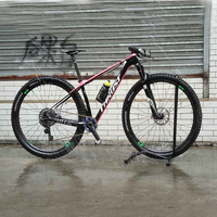 STUWKRACHT Carbon Fiets Frameset 27 Speed Mountainbikes Racing Fiets 700C Bike UltraLight 13 kg Dubbele Schijfrem Fietsen Bicicleta