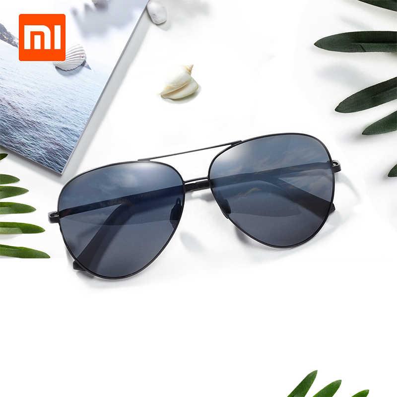Original xiaomi Turok Steinhardt TS Polarized Sunglasses 400UV-Proof Fashionable Grey-Black Sun Lenses unisex with drop shipping