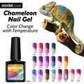 2016 Fashion 1Pcs 10ml Nail Gel Soak Off UV Chameleon Gel Polish Temperature Change Color Nail Gel Polish With LED UV Nail Art