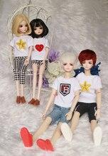 Plástico 1/6 barato blyth bjd muñeca moda cosmética diy 29 CM alta regalo muñeca con ropa maquillaje zapatos pelucas cabeza del cuerpo