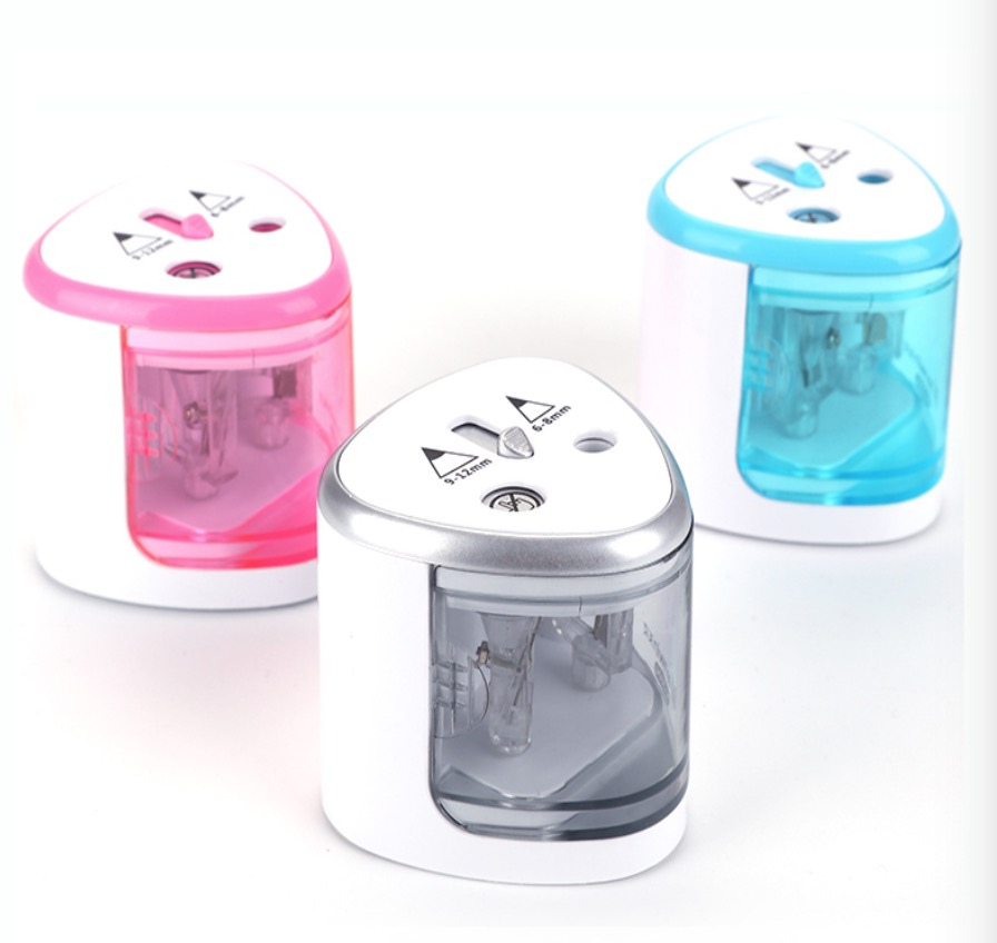 2020 Automatic Pencil Sharpener Stationery Electric Pencil Sharpener Pen Knife  Student School Supplies Office Christmas Gift