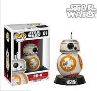 10CM Funko Pop Star Wars 7 BB8 Figure Toy 2016 New Force Awaken BB 8 Robot