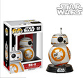 10CM Funko Pop Star Wars 7 BB8 figure toy 2016 New Force Awaken BB-8 Robot  pendant droid cufflinks peluche sphero figura