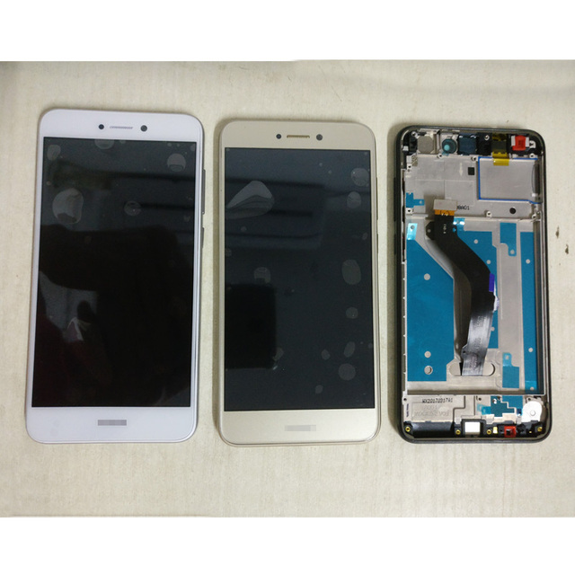 For Huawei P8 lite 2017 / honor 8 lite PRA-LX1 PRA-LX3 PRA-LX2 PRA-LA1 LCD DIsplay Touch Screen Digitizer Assembly With frame