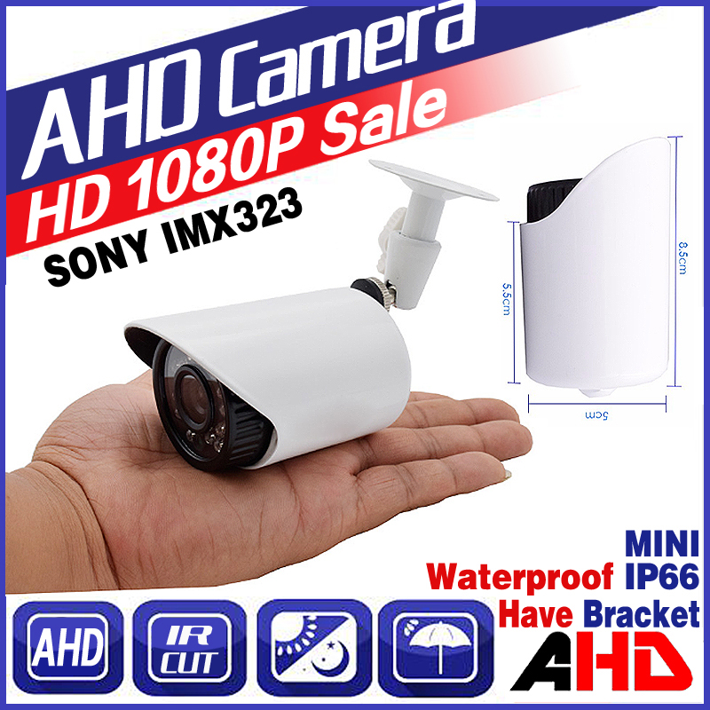 AHD1080P 720P 960P Mini Metal Security Surveillance HD CCTV Camera IR CUT infrared Night Vision Waterproof IP66 Color vidicon new waterproof ip camera 720p cctv security dome camera video capture surveillance hd onvif cctv infrared ir camera outdoor