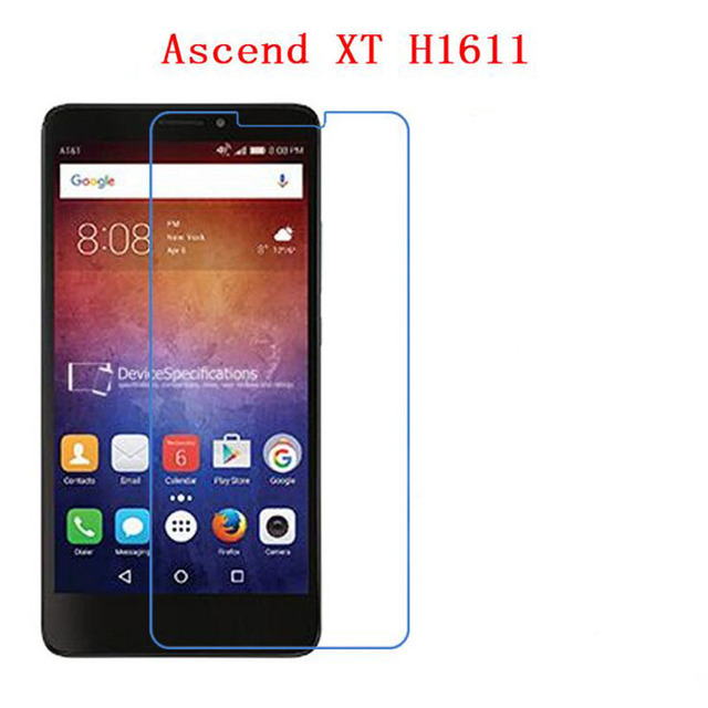 3 PCS HD phone film PE touch preserving eyesight for HUAWEI Ascend XT H1611 screen protector +Wipe wipes