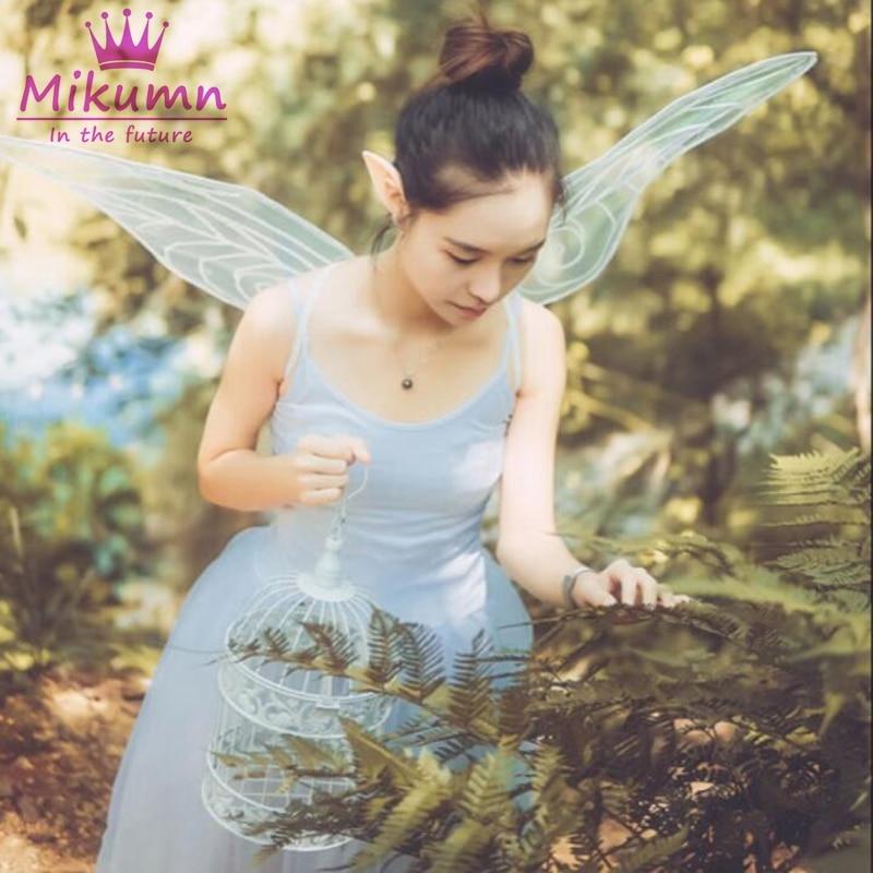 Женский маскарадный костюм с ангелом, крыльями бабочки