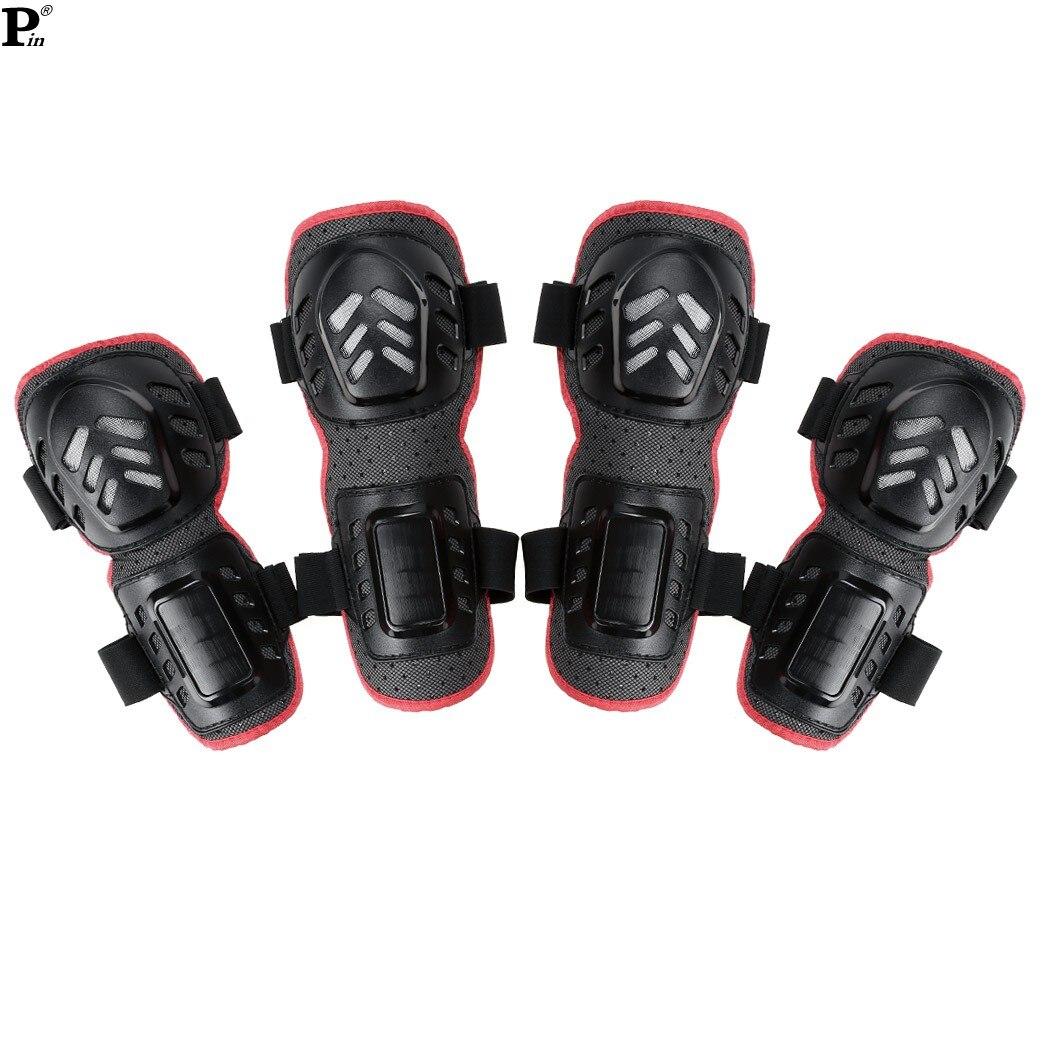 Prix pour 4 Pcs/set vente chaude nouveau 2015 sport coude genouillère moto moto Racing gardes équipement de protection 31
