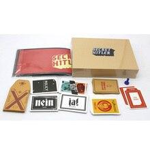 Секрет Гитлера, Настольные Игры, Скрытый Идентичность Игра Для 5-10 Игроков С Английским Видение Карточная Игра, Легко Играть С Бесплатным доставка