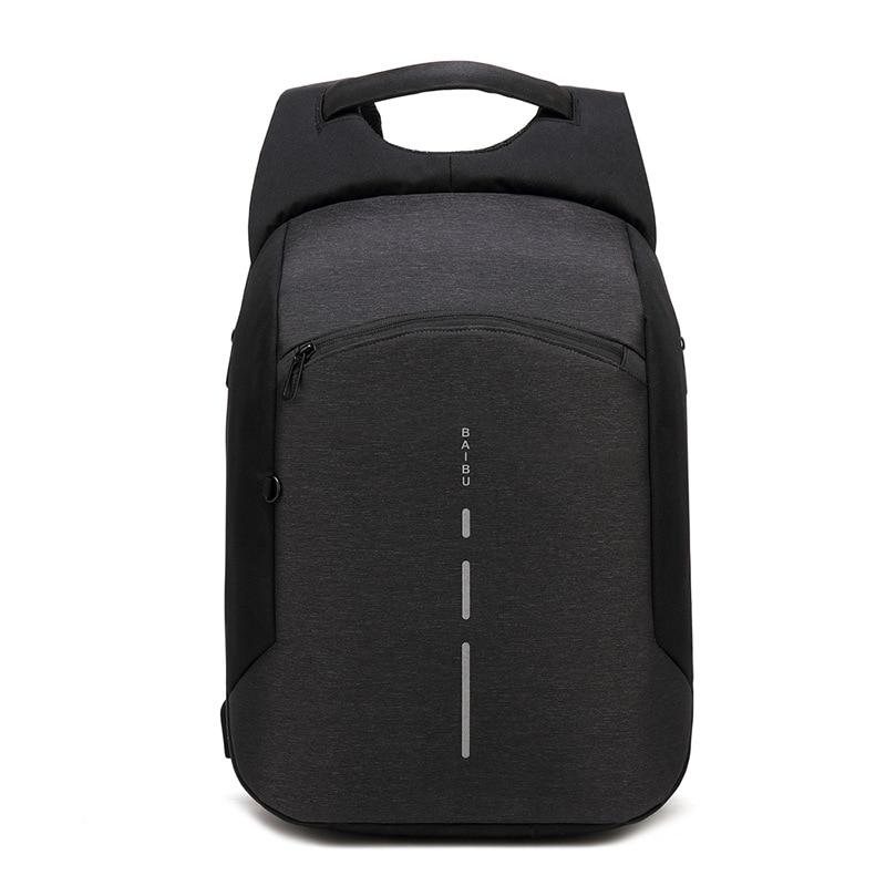 2018 New Anti-thief USB bagpack 15.6inch Laptop Backpack Men Travel Backpack Waterproof School Bags Multifunction Travel Mochila все цены