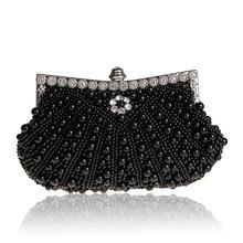 The new diamond chain fashion handbag Beaded tassels banquet dinner bride cheongsam dress bag free shipping