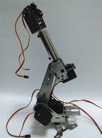 Hello Maker H675 промышленный робот Механическая рука 100% сплав шесть степеней свободы робот Подставка для рук с 6 сервоприводов