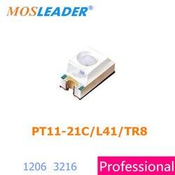Mosleader PT11-21C/L41/TR8 1206 500 sztuk 2000 sztuk 3216 PT11-21C/L41 PT11-21C fototranzystor wysokiej jakości