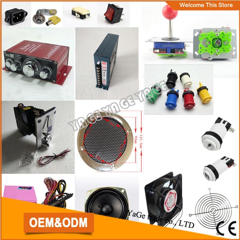 Jamma game DIY kit Arcade bundle parts Pandora 4S multi game PCB board Upgraded Version 680 in 1  box 4S HDMI VGA output 2pcs new arrival amusement multi video vga game pandora s box 3 jamma multi game pcb board 520 in 1