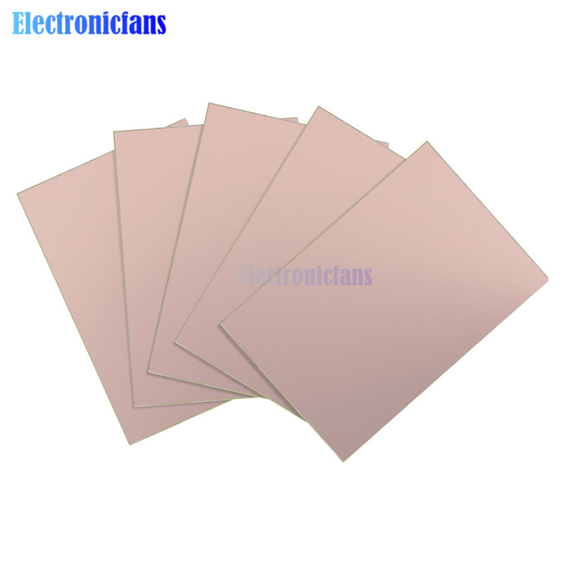10x15cm Single Side PCB Breadboard Copper Clad Laminate Board FR4 Universal Prototype 1.2MM 10 X 15 CM For DIY