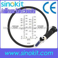 Glicole etilenico:-50'C-0'C (0--70%) Antigelo Rifrattometro RHA-218ATC