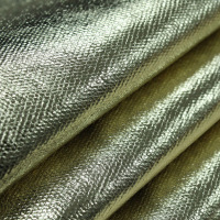 Gold Film Cotton Waterproof Fabric Big Martin Cloth Width148cm