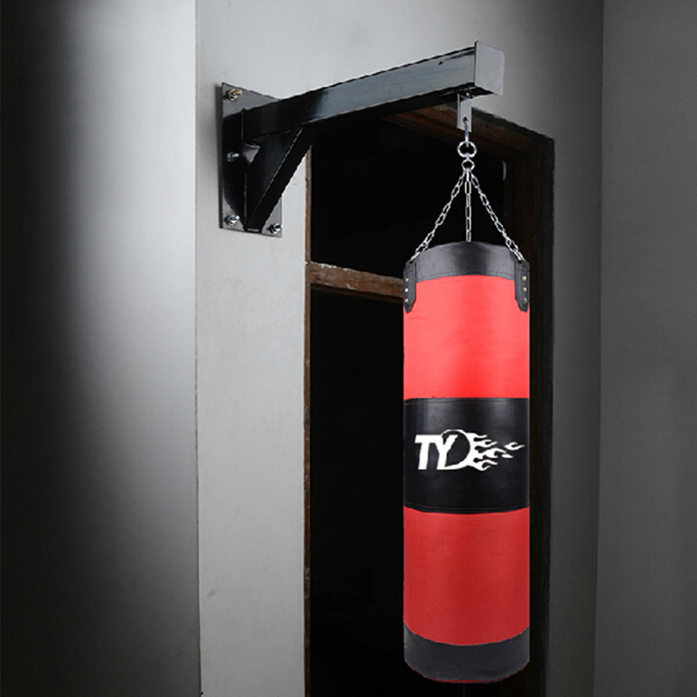 Albreda Sandbags Frame On Wall For Home Punching Bags Shelf Boxing Bag Hanging Rack Muay Thai Kick Trainning Equipment In Sand