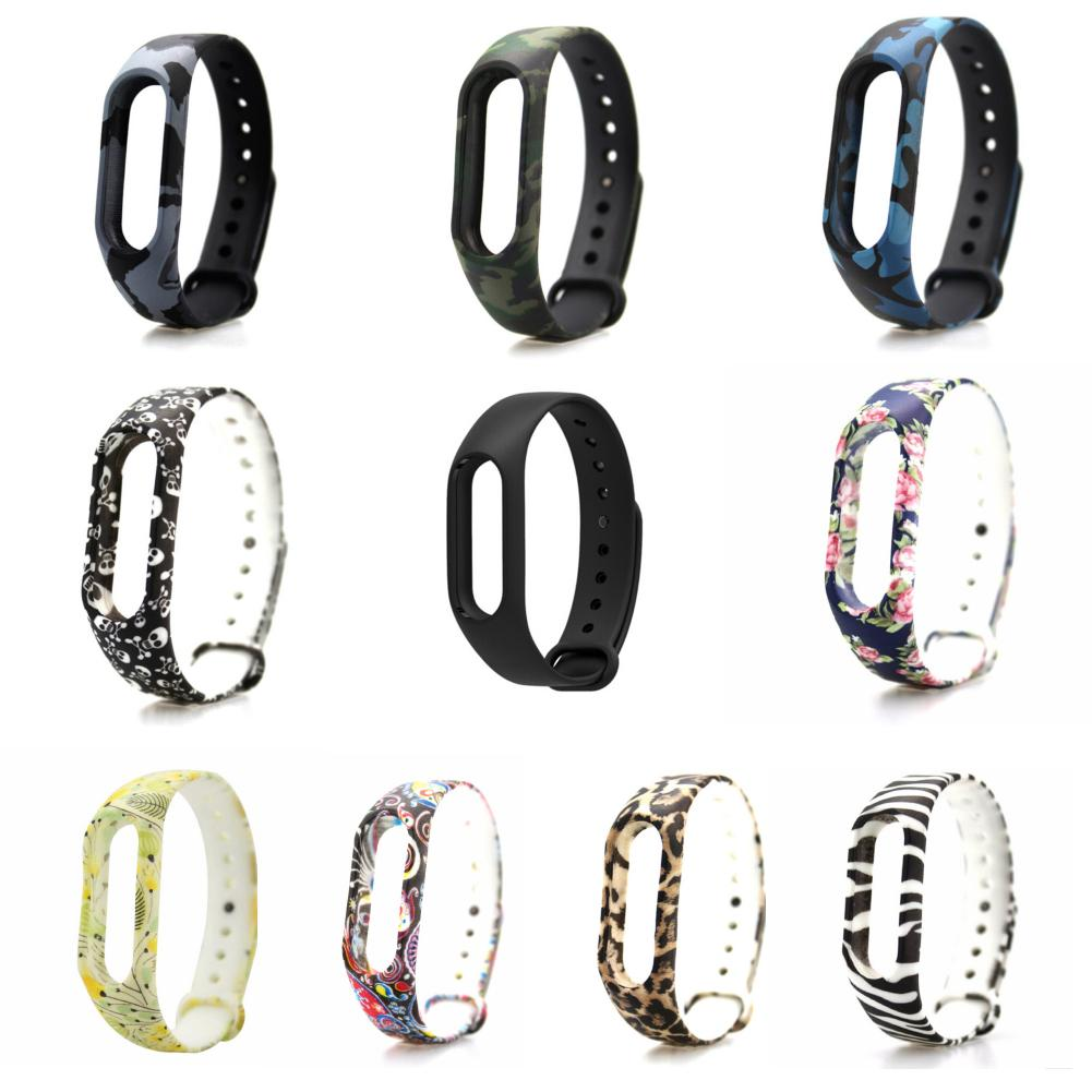 все цены на Watch Strap Colorful Bracelet  Band Mi band 2 Strap Wristband Replacement  Band Accessories For Xiaomi Mi  2 Silicone band онлайн