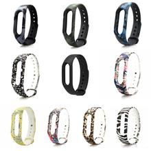 Watch Strap Colorful Bracelet  Band Mi band 2 Strap Wristband Replacement  Band Accessories For Xiaomi Mi  2 Silicone band
