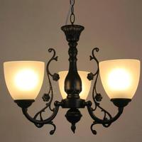 Multiple Chandelier Fashion rustic wrought iron light bedroom lamp study light new arrival brief ZX119