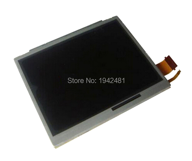 عالية الجودة استبدال أسفل أسفل شاشة عرض باللمس إصلاح أجزاء شاشة LCD لنينتندو ل DSi ل NDSi
