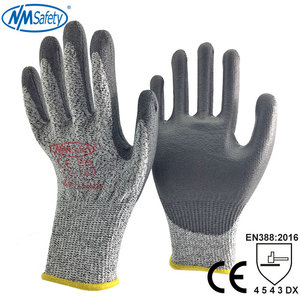 Image 3 - NMSafety High Quality CE Standard Cut Resistant Level 5 Anti Cut Work Gloves