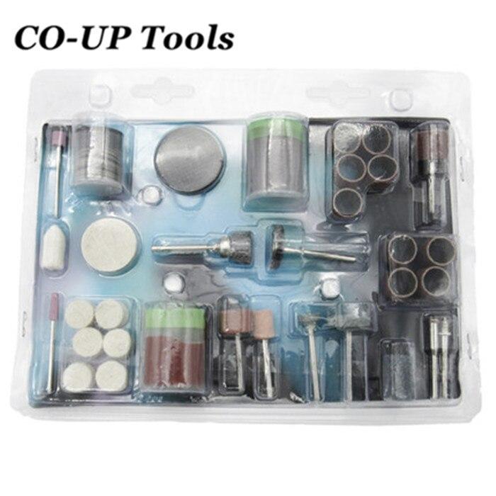 105pc Drill Bit Rotary Set Kit Grinding Sanding Engraving Polishing Hobby Tool