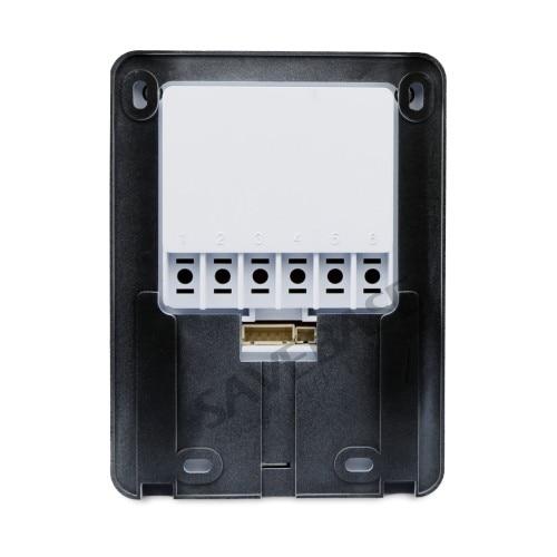HOMSECUR 7 Проводной Видео и Аудио Домашний Интерком + Белый Монитор для Дома/Квартиры : TC011-W + TM704-W