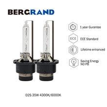 OEM 35W 2PCS Xenon D2S HID Light Bulbs Car Headlight Bulb HID Xenon Lamp 4300K 6000K PK32d-2 Quartz Glass UV Free For Original цена