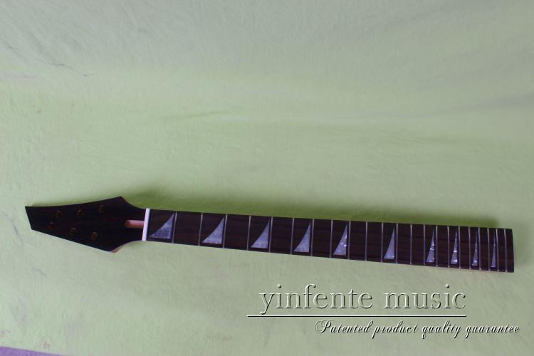 ФОТО one new    Unfinished electric guitar   neck black color