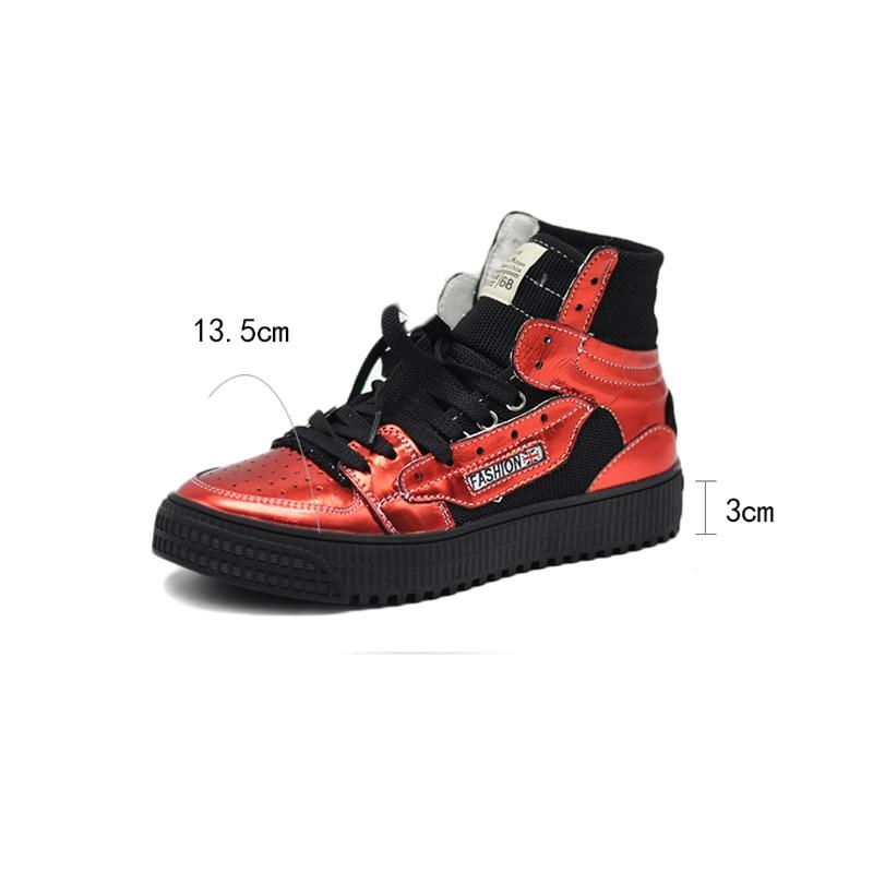Occasionnelles En Mode De Chaussures Espadrilles La Cuir À Appartements forme Doux rouge Plate Noir Étudiants Femme Femmes Vulcaniser Artmu Main Véritable Sneakers 8qpwxFq