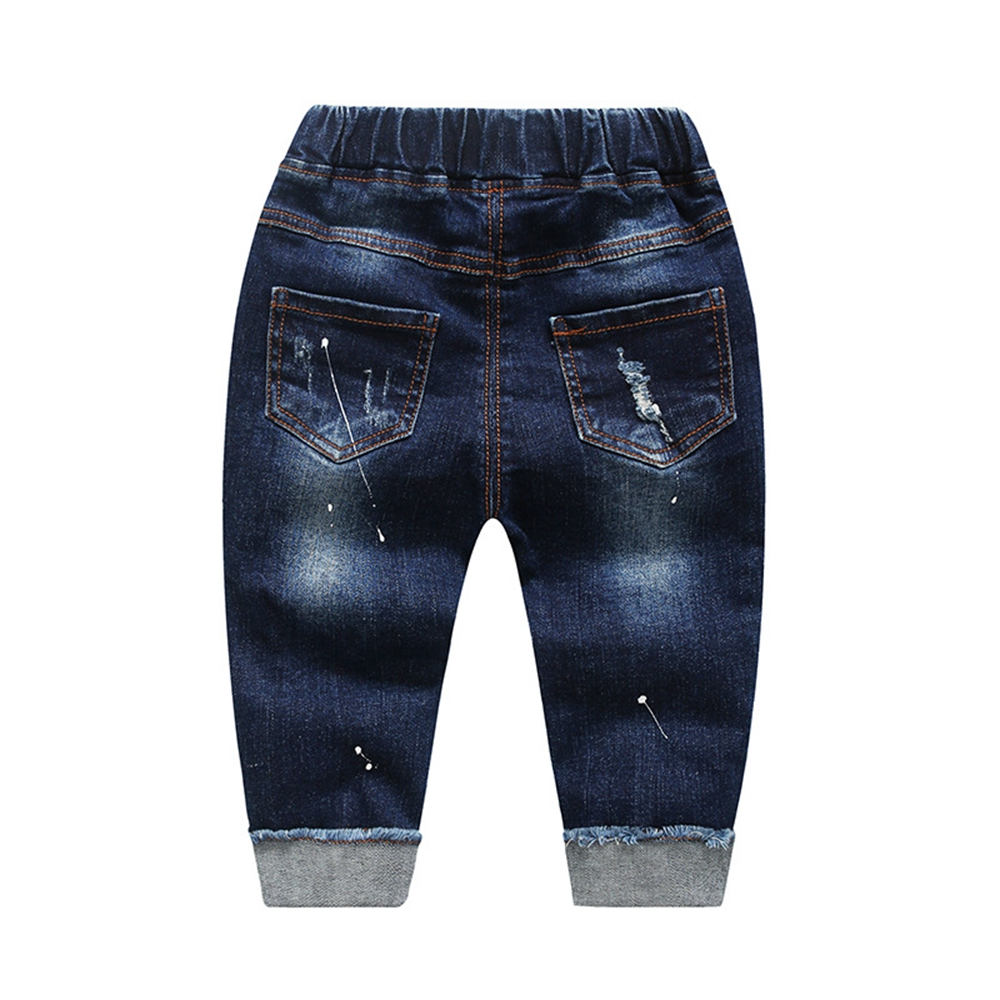 Chumhey 0-6T Spring Autumn Baby Girls Boys Child Jeans Pants Enfant Stretchy Denim Trousers Toddler Clothing 1 2 3 4 5 6 3