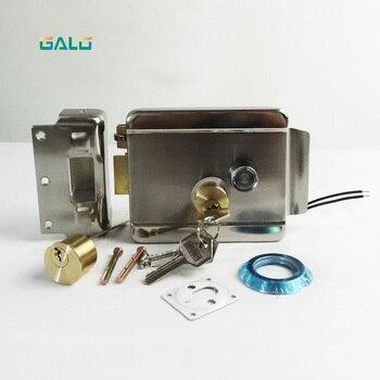Elektryczny elektroniczny bramy zamek do drzwi do intercom dostępu wpis System bezpieczeństwa z pokrętłem awaryjnym