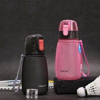 PINKAH 460ml Shaker taşınabilir Tritan su şişesi BPA ücretsiz plastik spor şişe spor kamp yürüyüş