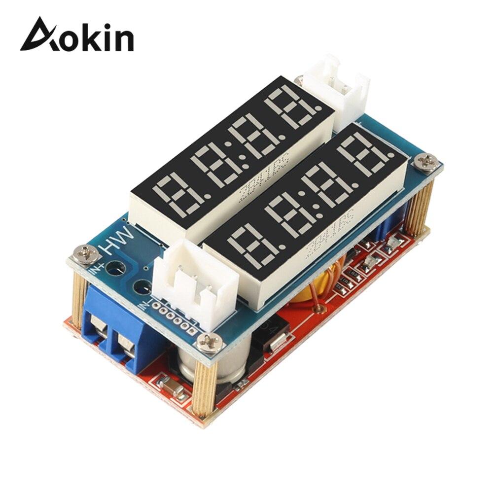 Step-down Transformer Power Module 5A Constant Adjustable LED Dual Display Amp/Volt Ampere Ammeter Voltmeter Current Volt Tester