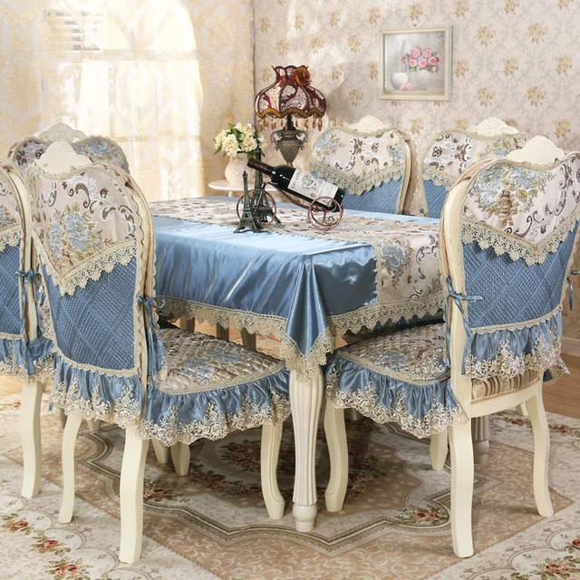Europe Top Elegant Luxury Lace Palace Tablecloth For Wedding Party ...