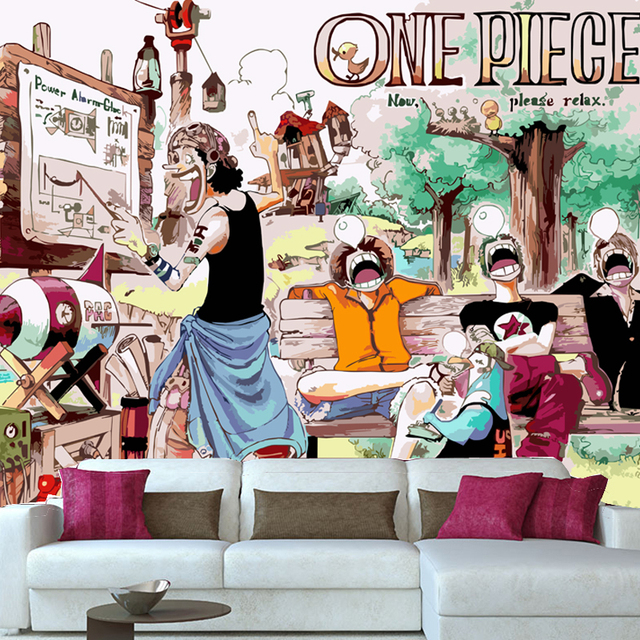 One Piece Wallpaper The Luffy Zoro Sogeking Characters Mural