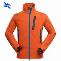 Waterproof Windproof Camping Hiking Jackets Men 2016 Outdoor Softshell Jacket Skiing Mountaineering Travel Windstopper Clothing