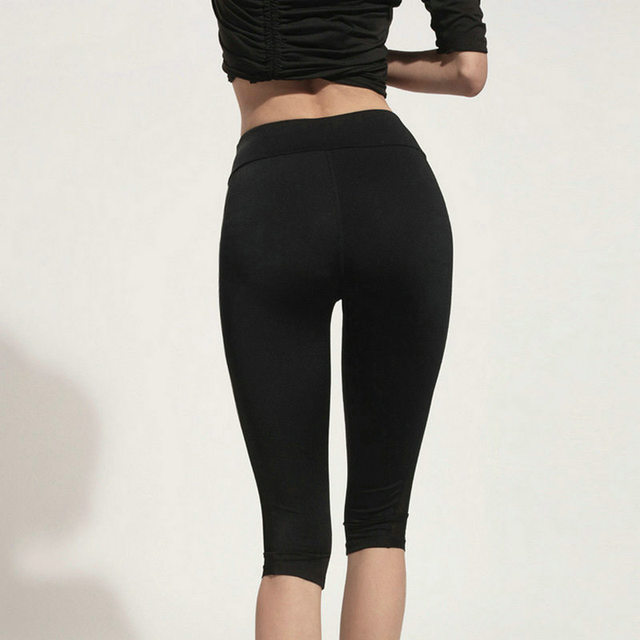 55ccac52711e2 Aipbunny Women Elastic Sexy Mesh Gym Yoga Shorts Training Sports Running  Cropped Fitness Leggings Short Athletic Workout Clothes