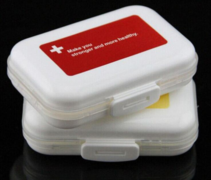 1 pcs Weekly Pill Box Travel Case Splitter Organizer Medicine Cutter 7 Day Container Hot Sale M40