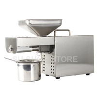 stainless steel oil press machine Multi functional oil expeller for factory price oil press tool 1500W