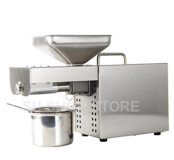 stainless steel oil press machine Multi-functional oil expeller for factory price oil press tool 1500W недорого