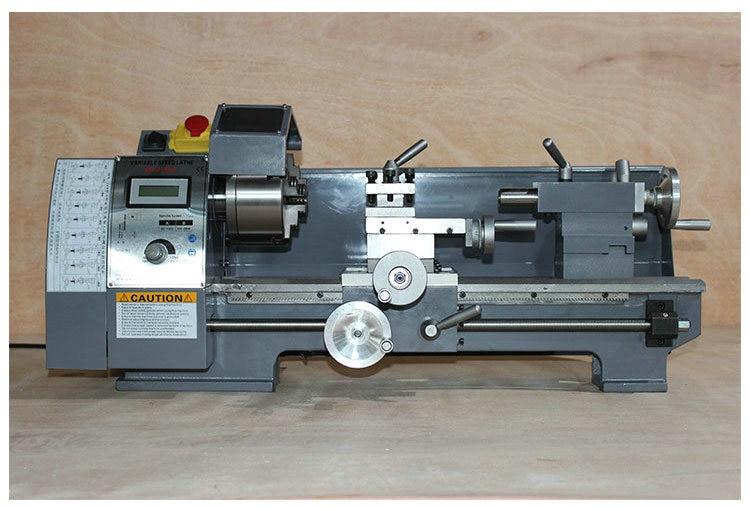 750W400mm Machining Length Small Lathe Multi-function Home Woodworking Turning Metal Machine DIY Machine Tool machine tool