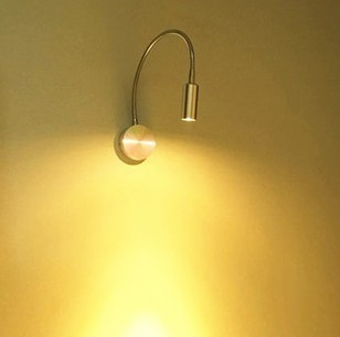 FREE SHIPPING LED 3W wall lamp, simple and modern style bedside lamp,bracket lamp,corridor wall light(China)