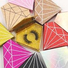 Iflovedekd 3D mink false eyelashes custom private logo box supplier wholesale thick natural